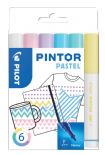 Pastel Colours Pack of Fine Pilot Pintor Paint Markers